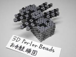 3dperlerbeads アイロンビーズ Minecraft マイクラ クモ 3dperlerbeads