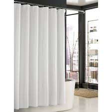 white shower curtain. Extra Long White Shower Curtain