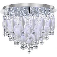 2459 9cc spindle 9 light semi flush ceiling light polished chrome