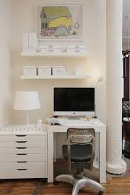 home office small space ideas. To Make Your Working Space Less Dull Add Some Colroful Artworks! Home Office Small Ideas