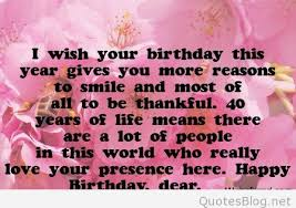 40th birthday wishes for daughter ~ 40th birthday wishes for daughter ~ Facebook birthday wishes messages and cards