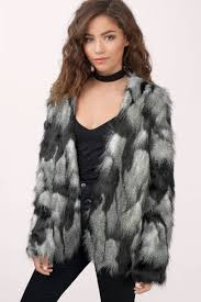 oh snow cozy faux fur coat