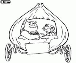 Small Picture Shrek coloring pages printable games 3