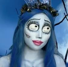 emily corpse bride makeup style for s