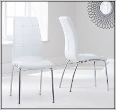white leather dining chairs uk