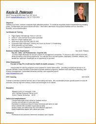 Sample Resume For Flight Attendant Resume For Flight Attendant Flight Attendant Resume