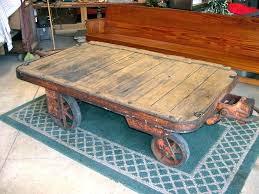 vintage cart coffee table vintage industrial cart coffee table vintage industrial factory cart coffee table vintage
