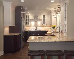 Two Tone Kitchen Cabinets Two Tone Kitchen Cabinets A Concept Still In Trend