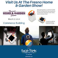 save money on summertime solar solutions at the fresno home garden show