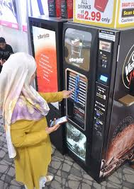 Smart Vending Machine Malaysia Beauteous Purchase Fresh Coffee Without Cash VBarista Vending Machine FOOD