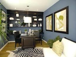 unique home office ideas. Home Office Color Ideas Blur With Dark Furniture Blue Brown . Unique