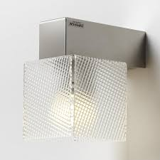 Applique lampadario da muro didodado con supporto in acciaio