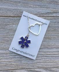 life paramedic emt ems gift lariat jewelry