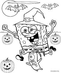 Printable Spongebob Coloring Pages For Kids Cool2bkids