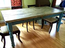 white distressed kitchen table diy farmhouse and chairs awesome black image inspirations winsome