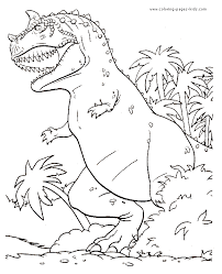 And don't forget to share your favorite dinosaur coloring pages with us. Angry Dinosaur In The Jungle Color Page Dinosaur Coloring Pages Animal Coloring Pages Dinosaur Coloring