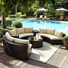 outdoor round sectional furniture wicker patio furniture sectional stunning living meridian round outdoor wicker patio furniture
