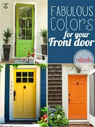 cool front door paint ideas gives paint color suggestions
