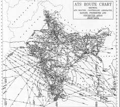 Ats Route Chart Air Traffic Service Routes Download Scientific Diagram