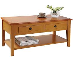 storage coffee table living room furniture dual lid