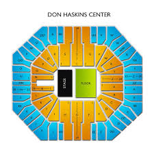 Don Haskins Center El Paso Seating Chart Don Haskins Center 2019 Seating Chart