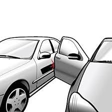 xcellent global car door protection removable magnetic car door guard strip 2 meter black d i y