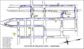 garden district new orleans walking tour map. Old-walking-tour-map-2 Garden District New Orleans Walking Tour Map