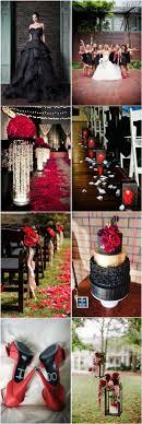 35+ Red and Black Vampire Halloween Wedding Ideas