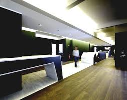 modern office interiors. Modern Executive Office Interior Design Viewing Gallery Inspirations Flooring Trends Contemporary Hallway With Wood Dark Green Colored Walls Interiors