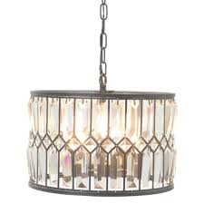 bronze iron crystal chandelier for small bronze modern chandelier with crystals gallery 7 of 35