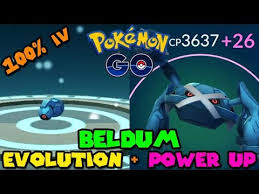 Beldum Max Cp For All Levels Pokemon Go