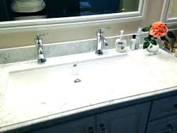 trough sink two faucets. Fine Two Two Faucet Sink Long Bathroom Sinks Double Trough    Intended Trough Sink Two Faucets E
