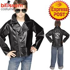image is loading ck1090 boys child rock n roll faux leather