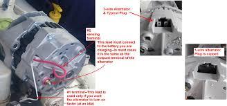 cummins marine delco style alternators identification seaboard delco 3 wire alternator 3 spade terminal plug 19si 22si si alternator plugs