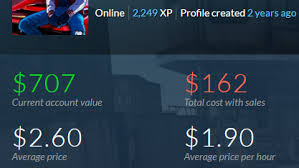 selling steam account 121 games dota 2 pipe of dezun cs go