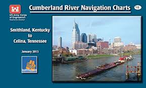 Cumberland River Charts Navigation Charts Cumberland River Smithland Kentucky To Celina Tennessee