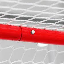 hockey goal with high quality steel frame net world sports