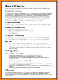 6+ Curriculum Vitae For Nurse | Prome So Banko