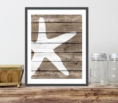 stylish coastal living rooms ideas e2. interesting stylish popular items for coastal living decor on etsy starfish art print faux wood  rustic nautical wall  stylish rooms ideas e2 g