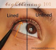 tightlining or applying eyeliner to the innermost part of your eyelid is