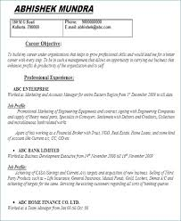 Sample Resume Simple Simple Awesome Sample Resume For It Companies Simple R Sum Sample Template