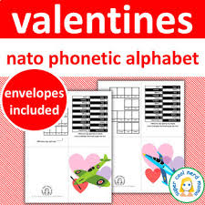 It was devised by the international phonetic association in the late 19th. Valentine S Day Cards Nato Phonetic Alphabet By Super Cool Nerd Mama