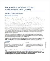 Product Sales Proposal Template New Free Software Sales Proposal Template Henrycmartin
