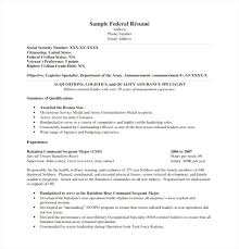 Federal Resume Templates Best of Federal Resume Templates Best Federal Resume Templates Free Federal