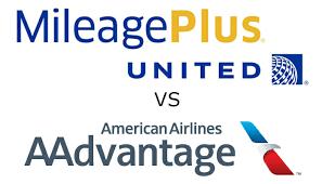 United Mileageplus Vs American Airlines Aadvantage Part 2