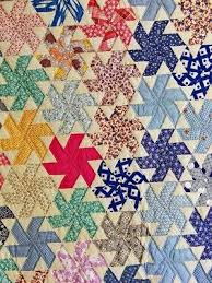 106 best Feedsack Quilts images on Pinterest | Abstract, Appliques ... & Unused Vintage Quilt Handmade Texas Trellis or Whirling Hexagon Feedsack  Fabric | eBay, i_spy_design Adamdwight.com