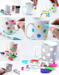 step by step guide to making a diy sharpie mug if you follow the tips