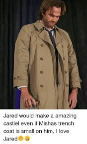 love memes and jared jared would make a amazing castiel even if mishas