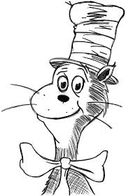 Small Picture Cat In The Hat Coloring Pages at Children Books Online