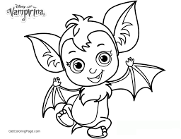 Vampirina Coloring Pages Cute Pages Batty Printable Cameo Pinterest